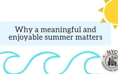 Why a meaningful and enjoyable summer matters
