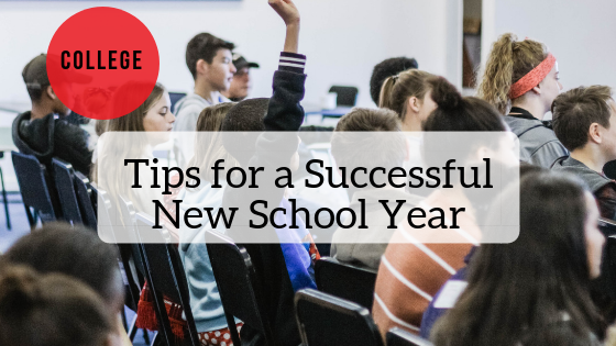 Tips for a Successful New School Year