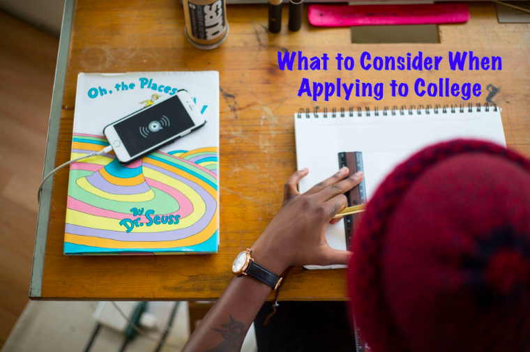 What to Consider When Applying to College