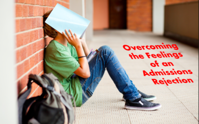 Overcoming the Feelings of an Admissions Rejection